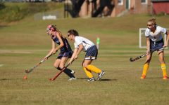 Page Johnson leads the field hockey team as the only senior captain.