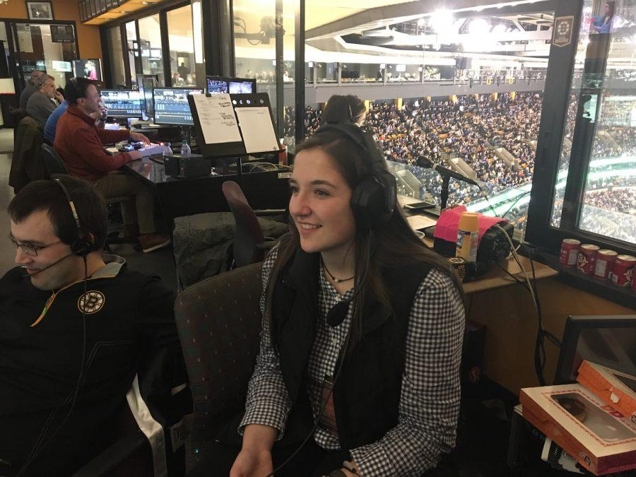 Shepaug Student Invited to Job Shadow with Boston Bruins
