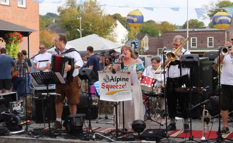 Oktoberfest arrives at the New Milford Green